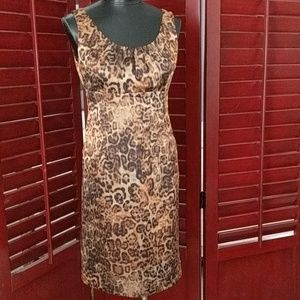 Doncaster Collection Animal Print Dress